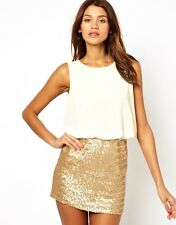 NWT TFNC Dress Blouson Top Sequin Skirt Perfect Christmas Party & New Years Eve