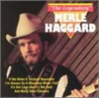 Legendary by Merle Haggard (Cassette) NEW