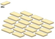 LEGO ® - Smooth Parts-Tan - 87079-07 - parti lisci-Beige - 2x4 (20stk)