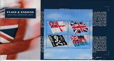 United Kingdom Block 12 Flags Submarine Weapon Der Royal Navy (MNH)