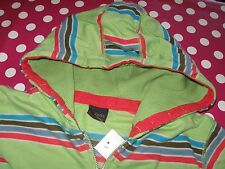 Green NEXT striped Hoodie Age 10 Brand New with Tag
