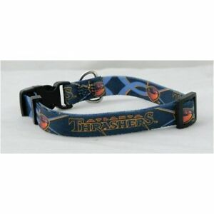 Atlanta Thrashers Old School NHL (XS adjust 8.5 - 11.75 inch) Nylon Dog Collar