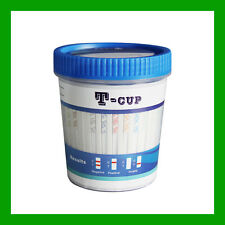 10 PACK T CUP DRUG TESTS - Highest Panel Drug Test in Market - Test 14 Drugs