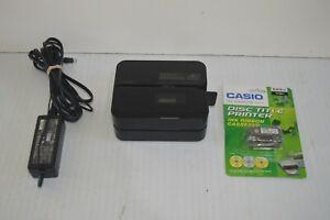 Casio CW-E60 Disc Title Printer with TR-188K-S