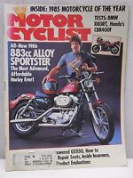Vintage Motorcyclist Magazine August 1985 Harley Davidson 883cc Alloy Motorcycle
