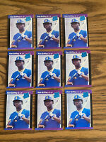 (9) Ken Griffey Jr 1989 Donruss Rookie Cards Seattle Mariners As Shown HOT!