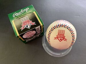 1997 Rawlings Official All Star Game Baseball Ball In Box Cleveland Indians