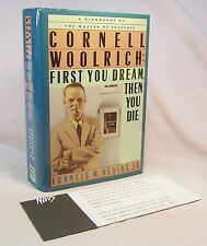 Francis M. Nevins CORNELL WOOLRICH First edition Hardcover Review Copy Biography