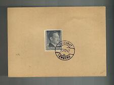 1942 Lemberg Poland Germany Judenrat Ghetto Postcard Cover