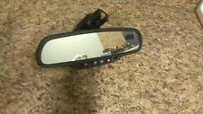 REAR VIEW MIRROR CADILLAC DEVILLE 2004 2005 COMPASS TEMPRETAURE ON STAR