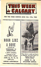 This Week in Calgary Canada June 11-17 1962 Vintage Ads Shrine Circus Corral