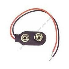 9V/DC/VDC/Volt Battery Clip/Connector/Snap/Jack/Plug/Holder Wire/Lead/Cord/Cable