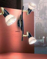 2 spots sur rail Plafonnier Lustre Lampe de cuisine Lampe de couloir Métal 34193