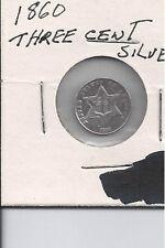 1860 silver 3 cent piece