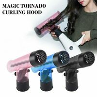 Wind Spin Hair Curler Magic Tornado Blowing Curls Hair Diffuser Hood Curler 2019