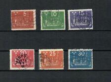 Sweden Europe Collection Postal Short Set Used Upu Stamp Lot (Swed 21)
