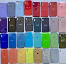 FUNDA DE SILICONA PARA APPLE iPhone 6/6s 7/8 7/8PLUS X/Xs XR XsMAX 11/11Pro11MAX