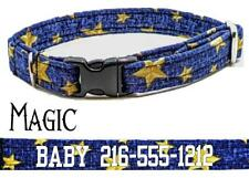 New ListingPersonalized Cat Collar Safety Breakaway Buckle Adjustable Cotton Cats & Kittens