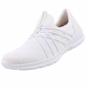 Rieker Nouvelles Chaussures Femmes À Enfiler baskets Basses Décontractées
