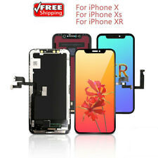 For iPhone 11 10 X XR XS OLED/TFT LCD Display Touch Screen Digitizer Replacement