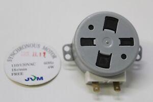JVM synchronous motor 18r/min 110/120V AC 60Hz 4W Free Shipping