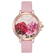 Ted Baker - TE50267011 - Brand New Boxed - RRP £135 - Pink Leather Strap