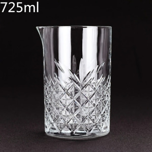 Rhombus Pattern Japanese Style Crystal Cocktail Mixing Glass Bartender Pitcher