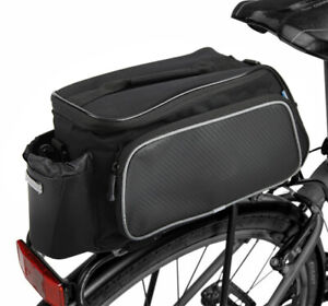 Sahoo Large Reflective Rear Trunk Bicycle Rack Bag 10L (40 x 20 x 18m)