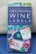 Decoding wine labels