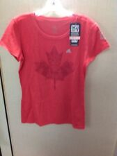 adidas Toronto FC Women's Heathered Red Large T-Shirt - MLS MSRP $24.00