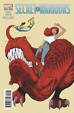 SECRET WARRIORS #3 RODRIQUEZ MARY JANE VAR SE MARVEL 1st Print 14/06/17 NM