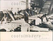 1938 Japanese Hemp Mill Davao City Mindanao Philippines Press Photo