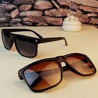 FT- Vintage Retro Women's Men's Rivet Plastic Square Frame Classic Sunglasses Sh