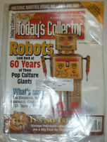 Warman's Today's Collector Magazine Robots 60 Years October 2000 021115R