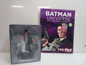 Two-Face DC Eaglemoss Batman Universe Collectors Bust #4 w/ Magazine