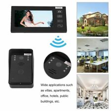 """7"""" Wireless Video Touch Key Camera Door Phone Doorbell Intercom Waterproof IR XT"""