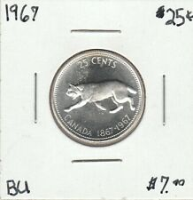 Canada 1967 25 Cents