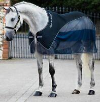 Horseware Rambo Show Net Cooler Navy blau