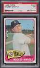 1965 Topps Baseball Card #350 MICKEY MANTLE New York Yankees PSA NM 7 PMJS 56
