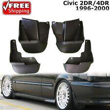 NEW Honda 1996-2000 Civic Sedan / Couple EK Mud Flaps Splash Guard Rear + Front