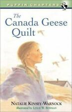 The Canada Geese Quilt (Chapter, Puffin)-ExLibrary