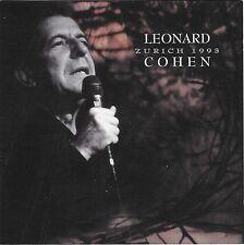 LEONARD COHEN Live Zurich Switzerland May 21 1993 Italian CD (LSCD 51619)