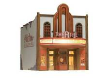 Woodland Scenics N Scale Built Up Theater BR4944 WOOBR4944
