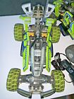 Lego Dirt Crusher RC Lot of 2 Green Cars +extras