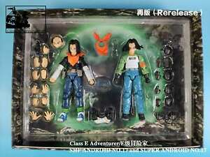 (US Stock) Class E Adventurer CEA Studios 2-Figuare-Set Super Android No. 17