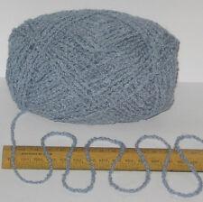 95g ball Blue Boucle 100% Pure British Breed Wool double knitting dk yarn EFW805