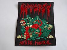 AUTOPSY MENTAL FUNERAL EMBROIDERED PATCH