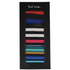 PAUL SMITH Multi Stripe Pack of 3 Socks in Box *Made in England*
