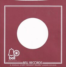 BELL, UK  Company Reproduction Record Sleeves - (pack of 5)