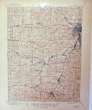 USGS 15' Zanesville, OH topographic map.  January1910 edition.